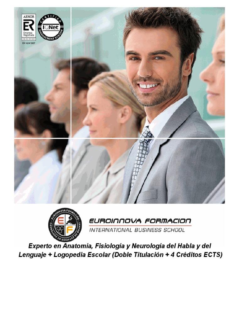 Experto en Anatomía, Fisiología y Neurología del Habla y del ...