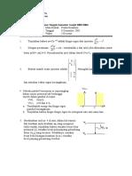 UTS Fisika Kuantum 05-06