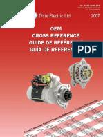 102211-9010 New Alternator For Denso Replaces 102211-1830 Alternators & Generators Charging & Starting Systems