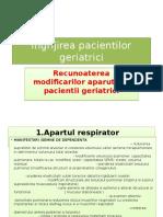 Ingrijirea pacientilor geriatrici