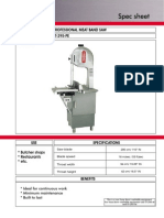 Professional Meat Band Saw