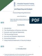 Financial Reporting Mechanics