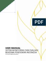 User Manual Simonev