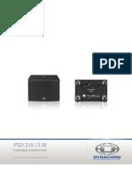 Manual PSD