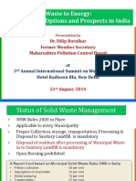 Dr Boralkar Presentation W2E_Delhi 21.8.2014