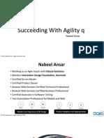 Succeeding with Agile - Nabeel Ansar