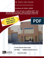Las Vegas Warehouse For Sale or Lease