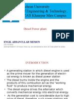 Diesel Powerplant