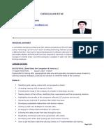 IT CV Mohammed Anwar Hussaini