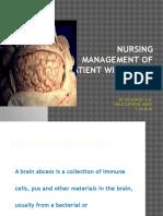 Nursing Management of Patient