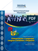 Uf13 Lenguaje Lengua Castellana 2015