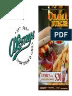 Media on Obama Burger