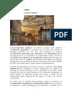 INFORME ACADEMICO DE OSCURECIMIENTO GLOBAL
