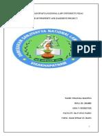 Transfer of Property Prnjal