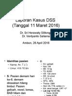 Laporan Kasus DSS