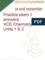 Practice EXam 1 Answer