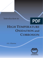 Introduction high temp Oxidation of Metals (Khanna 2002)