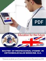 Master Orthomolecular Medicine