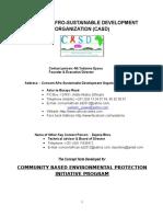 Concern Afro-Sustainable Development Organization (CASD)