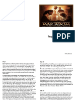 War Room Booklet