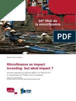 Dt24 Impact Investing en 2013