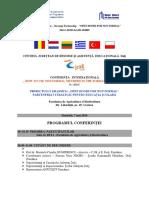 Program Conferinta Erasmus Final
