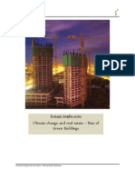 Climate change and real estate – Rise of Green Buildings