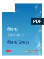 10- Mineral Groups
