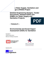 ESIA Water and Sanitation Volume II Edited