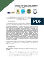 Informe entrega presidencia IBSCEPColombia 2005-2007
