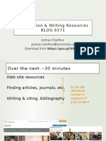 Josh Chalifour Library Engineering Writing Resources 201609
