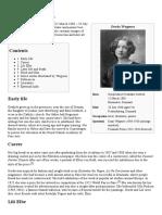 Gerda Wegener - Biography From Wikipedia