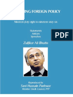Reshaping Foreign Policy;  Zulfikar Ali Bhutto