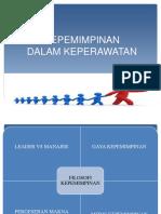 Kepemimpinan Dalam Keperawatan