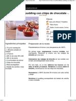 Hoja de impresión de Bread & butter pudding con chips de chocolate.pdf