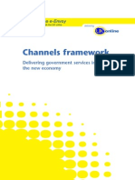 Channels Framework - Delivering government services in the new economy