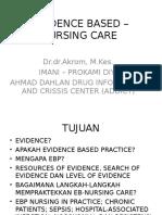 Evidence Based-nursing Care Pathway
