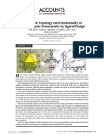 Tuning the Topology and Functionality of Metal-Organic Frameworks by Ligand Design