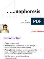 8.Phonophoresis