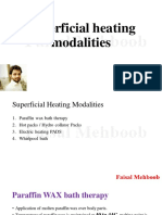 9.Superficial Heating Modalities