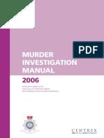Murder Investigation Manual Redacted