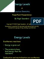 Bonds and Energy Levels PPt Creat Chem