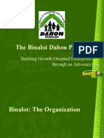 Binalot Dahon Program