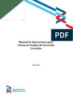Manual Operaciones Fondos de Inversion