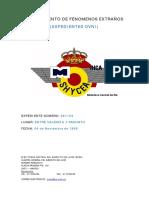 Avistamiento de Ovni entre Valencia Sagunto - (4/11/1968)