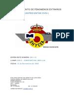 Avistamiento de Ovni en Constantina (Sevilla) - (12/11/1968)