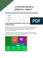 8 Metode de a Dezinstala Aplicații Și Programe Din Windows