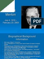 Merton Slides