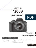Manuale Canon EOS 1300D