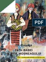 FATA BABEI SI FATA MOSNEAGULUI - Ion Creanga (ilustratii de Stefan Nastac, 1982).pdf